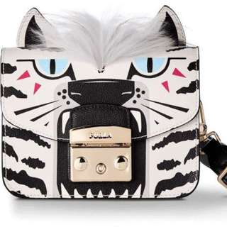 Furla Metropolis Jungle Mini Crossbody Bag