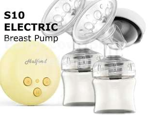 Halford Mini s10 (brand new) double Breastpump with extra accessories (brand new)