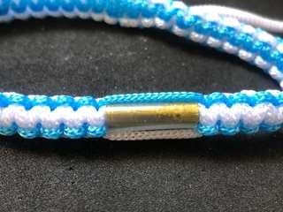 Thai amulet - Brass takrut bracelet ( free gift )