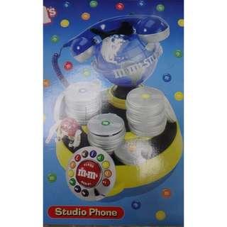 M & M 's 電話 W/BOX