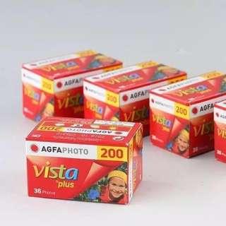 Agfa vista plus 200 color film