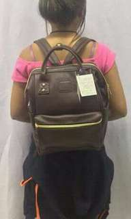 Anello. Leather backpack