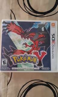 3DS Pokemon Y game