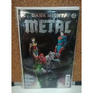 Dark Nights Metal #1 Foil var 1st print