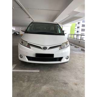 WEEKLY $510 TOYOTA PREVIA 7 SEATERS UBER/GRAB USAGE