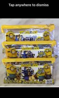 Kids birthday party goodies bag, door gift, goody bag packages- minions theme