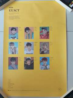 Exo official posters