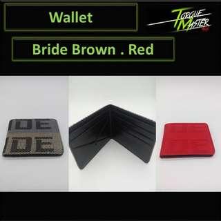 Bride Wallet . Card Holder.