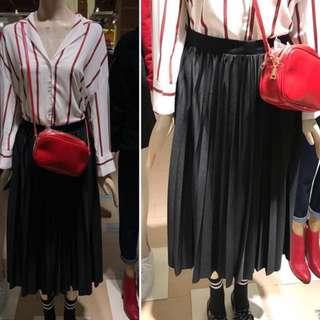 pleated skirt / rok prisket pleats