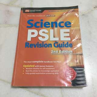 Science PSLE Revision Guide Book