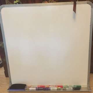 White Board and markers