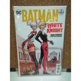 Batman White Knight #3 variant Cover