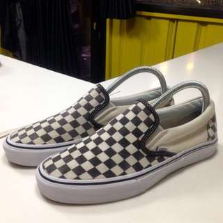 Vans Slipon Checkerboard Black White