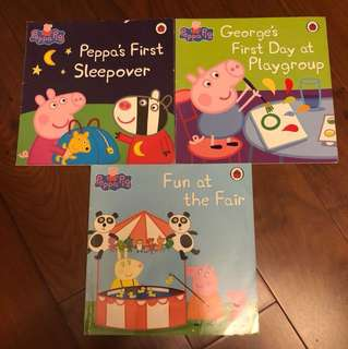 Children's books 兒童圖書 - Peppa pig books