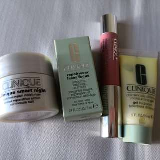 CLEARANCE on Clinique samples