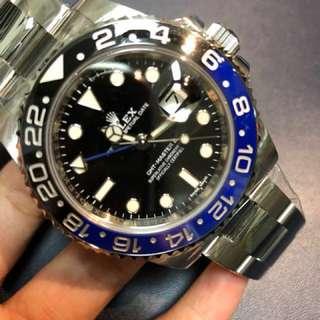 Rolex 116710BLNR 藍黑圈
