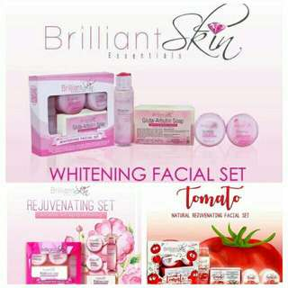 Brilliant Skin Essential Rejuvenating Whitening And Tomato Set