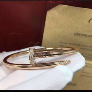 Cartier Un Clou / Nail bangle bracket jewellery