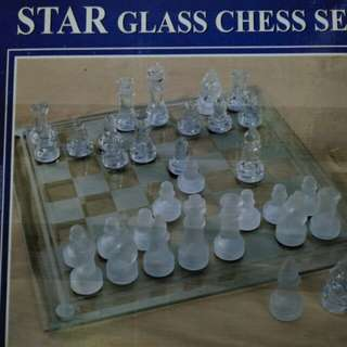 Glass Chess Set (imported)