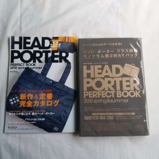 HEAD PORTER PERFECT BOOK 連袋