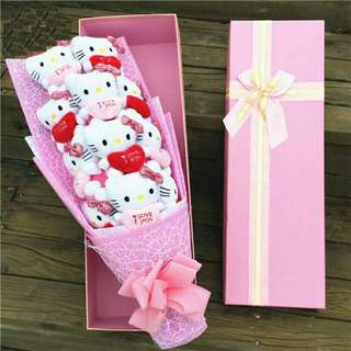 11pcs Hello Kitty with Gift Box