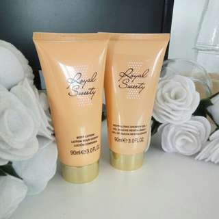 Royal Sweety Body Lotion & Shower Gel