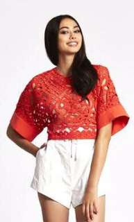 Alice McCall red top