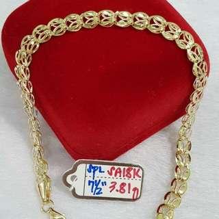 18K Saudi Bracelet
