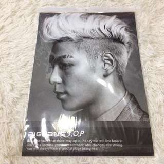 13pcs of Bigbang Top Poster KPOP