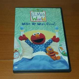 Sesame Street Elmo's World Wake Up With Elmo