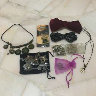 Assorted Accessories (SUPER WORTH IT!!!)