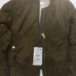 Bomber jacket pull & bear size S