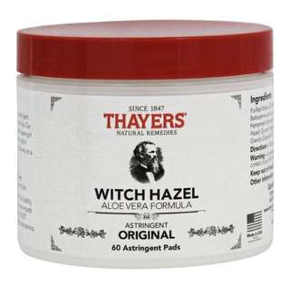Thayers astringent pads Bn