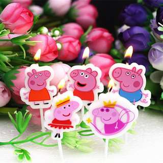 PEPPA PIG Candles (Pack of 5)