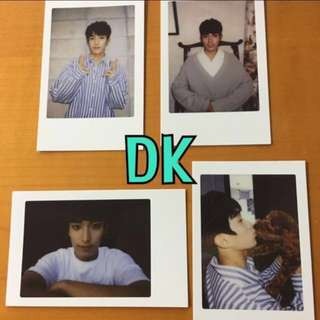 ON HAND OFFICIAL PHOTOCARD 17 DK - DIAMOND EDGE PHOTOCARD 4 SET