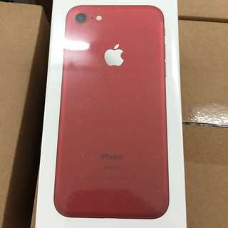 Iphone 7 256 Red