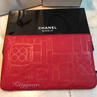 Chanel limited edition make up pouch