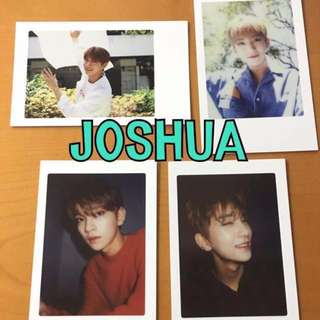 ON HAND OFFICIAL PHOTOCARD 17 JOSHUA - DIAMOND EDGE 4 SET