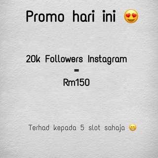 20k IG Followers