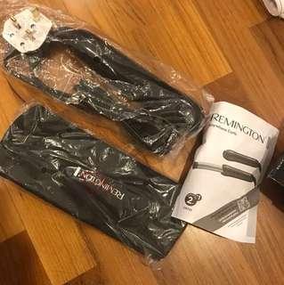 Remington hair curler pink