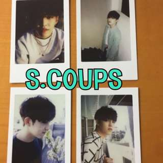 ON HAND OFFICIAL PHOTOCARD 17 S.COUPS - DIAMOND EDGE 4 SET