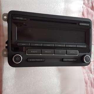 vw touran car radio set