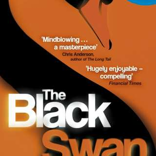 The black swan by Nassim Nicola Taleb