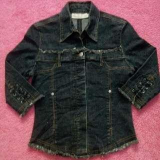 Jaket jeans anak ex import grade A usia 5-8th
