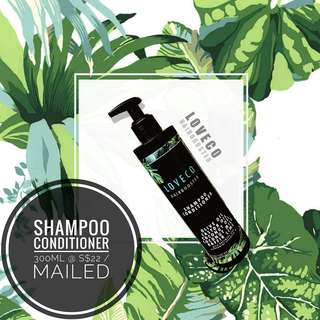 LÒVECO SHAMPOO CONDITIONER 300ml