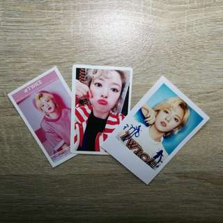 Twice photocards( JeongYeon)