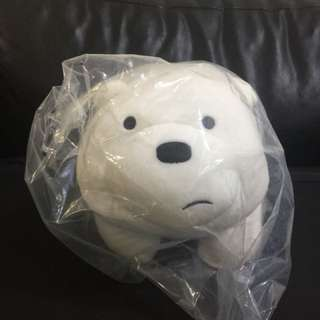 Miniso We Bare Bears Ice Bear 4 Legs Standing Soft Toy