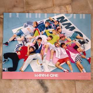 WANNA ONE~ Official posters (Limited stocks)