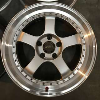 Rim Work Meister 18 inch camry accord civic
