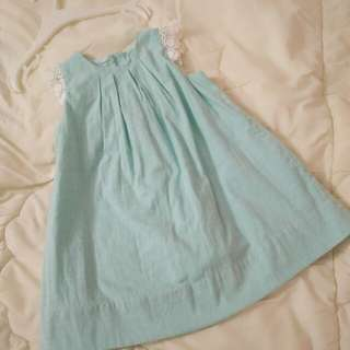 Baby Poney Turquoise Dress #Bajet20